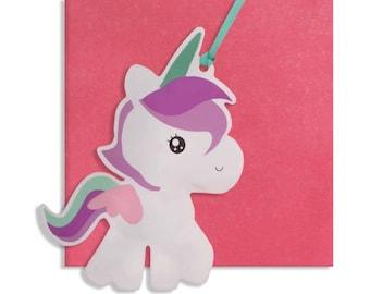 Inflatable Unicorn Card/ Decoration