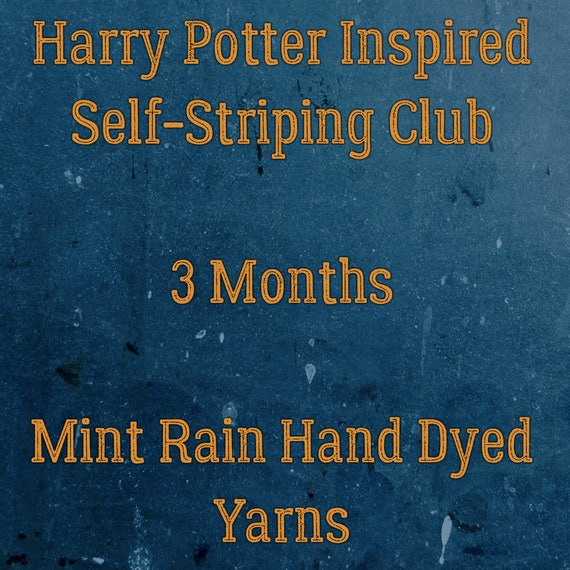 Harry Potter Inspired Self Striping Club - 3 Months January - March