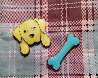 Dog Lover Enamel Pin