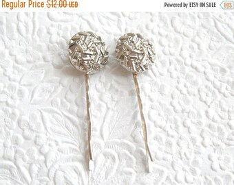 CLEARANCE - Silver-tone  hairpins, hair accessory, womens accessory, fashion accessory