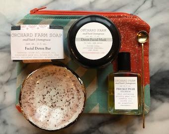 Gift set//Facial Detox//Valentines Day