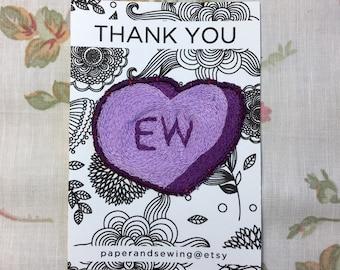 Patch - Heart Conversation 'EW'