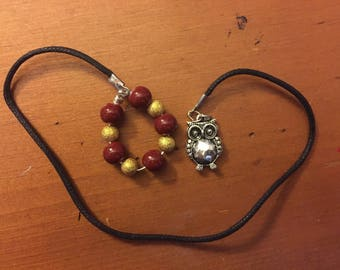 Harry Potter Hedwig Cord Bookmark