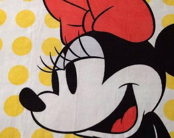 Minnie Mouse Fleece Hand Tied Blanket