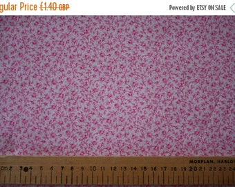 "SUMMER SALE Liberty Tana Lawn ""MICHAEL"" pink 20 x 20cm (8 x 8"")"
