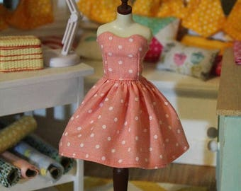 ON SALE Everyday sweetheart dress for Blythe, licca and pullip