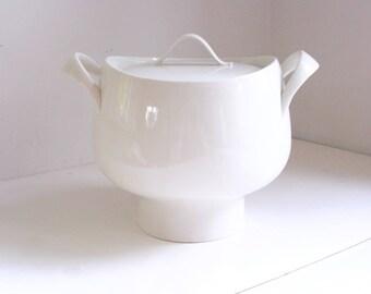 Vintage Ernest Sohn soup tureen white mid century ceramics