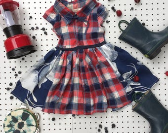 Recycled Summer Camp Dress