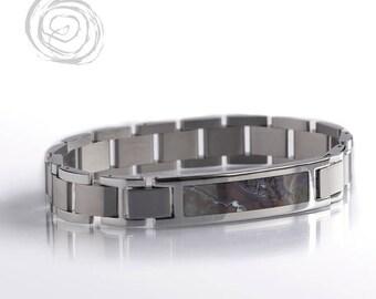 Boulder Opal Bracelet, Stainless Steel Interchangeable Bracelet Set, Interchangeable Jewelry, Handmade Bracelet
