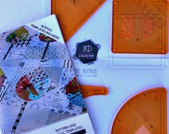 Pattern & Acrylic Templates - The Avenue - Jen Kingwell - Jen Kingwell Designs JKD 5927
