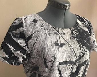 Paul Costellon Black/Gray Art Dress 12 - Deep Pockets