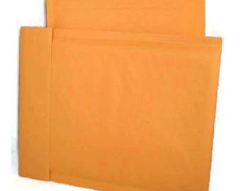 Bubble Mailer 10 pack - gold, size 0 or approx 6x10 - small, padded envelopes, shipping, mailing, shop supplies, self sealing, kraft paper