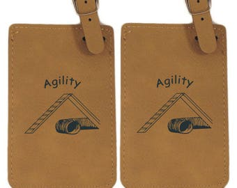 Agility A Frame Luggage Tag  2 Pack - Free Shipping