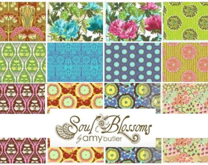 Soul Blossoms by Amy Butler - Fat quarter bundle of 12