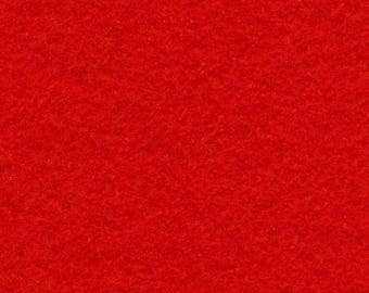 Red 20/80 Wool Blend Felt 12x18