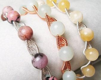 SALE - Twisty - Woven Bangle Bracelet Tutorial