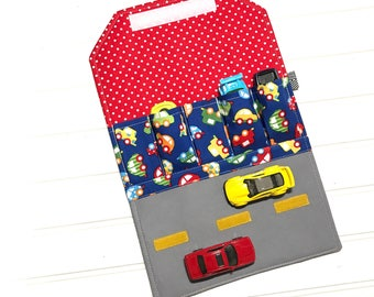 Toy Car holder, Car Carrier, Travel Toy, Toy car mat, Activity mat, Gift for kids, Car play mat, toy car storage, car mats, car wallet, cars