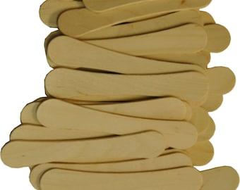 30 Laser Engraved Bowtie Ice Cream Sticks
