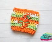 Fruit Coffee Cozy { Orange Bird } Summer Inspired striped, castle, smoothie drink, coffee cup cozie, cup cozy, mug starbucks, water bottle