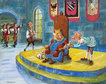 Old King Cole - high quality giclee art print
