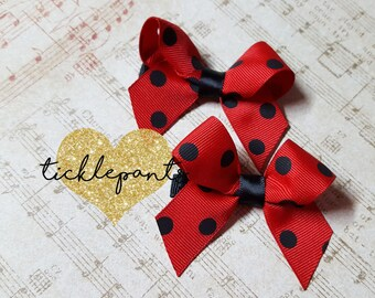 With a bow on top - Mini - Headband or clip - Upgraded Premium hair accessory - Made to match your Tickle Pants birthday outfit