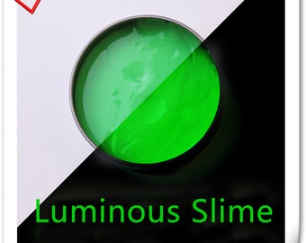 Luminous Slime silly putty DIY toys clay Slime 4 color to choose 140g ( 4.8 OZ)