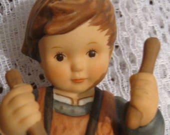 Goebel Drummer Boy Figurine - BH 53 - Berta Hummel Signed