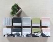 Small Square Ceramic Planter - Made to Order