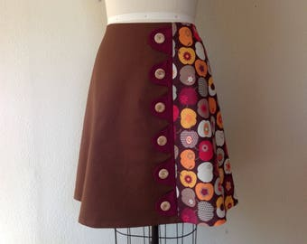 SALE Elliot asymmetrical a-line skirt