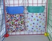 RAT SAC 2pc Saddle Bag xsm - Fruit & Flowers