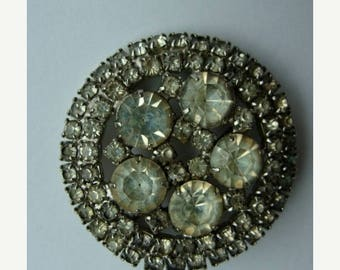 ONSALE Antique Stunnning Rhinestone Brooch