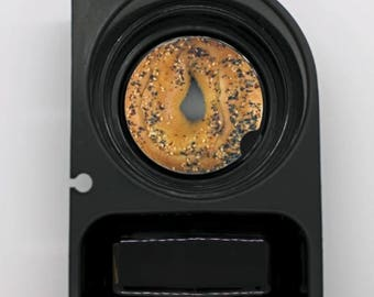 Bagel Round Car Cupholder Coaster