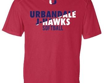 Urbandale J-Hawks Softball Dri-Fit OR tshirt