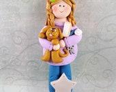Polymer Clay Dog Groomer -Dog Groomer Gift - Dog Groomer Christmas Ornament - Pet Owner Gift - Pet Groomer Gift - Pet Salon Owner -4296