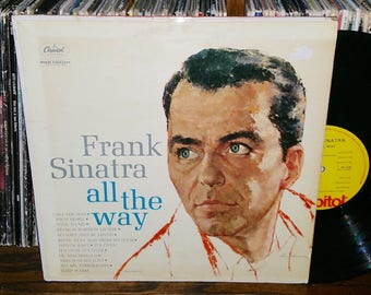 Frank Sinatra All The Way Vintage Vinyl Record