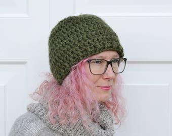 24 Colours , Womens Super Chunky Crochet Beanie Hat,