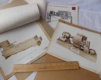 Vintage Munson Mill Machinery Utica NY Equipment Catalogs 1950s Mill MachinesFarm