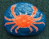 Cancer Zodiac rock, special order for Ursula