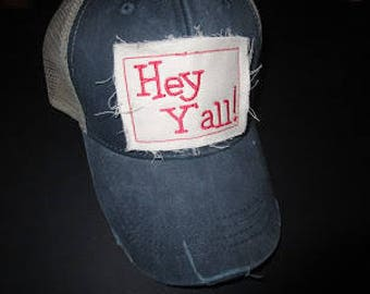 Hey Y'all Patch Trucker Hat