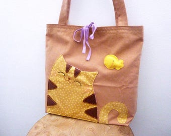 Cat bag, cat tote, cat tote bag, cat handbag, tote bag, canvas tote bag, shoulder bag, shoulder tote, totes, cat lady gift, cat lover gifts