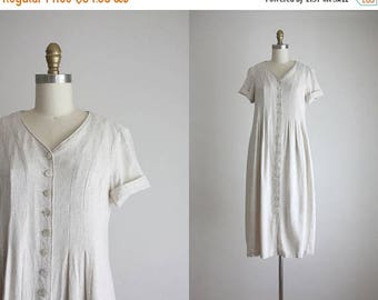 25% SALE linen market dress
