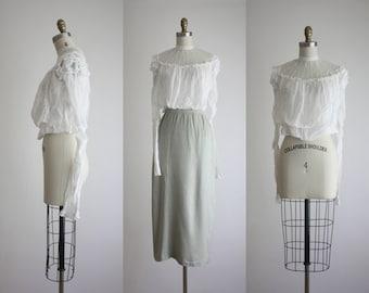 1910s cotton blouse