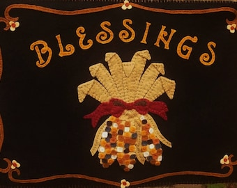 Blessings~Wall Hanging MAILED PAPER PATTERN