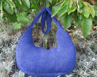 40% OFF SALE Digital file pdf download knitting pattern only- Superfast Super Slouch Bag pdf download knitting pattern
