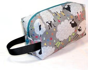Sheeply Leggings Project Bag - Premium Fabric