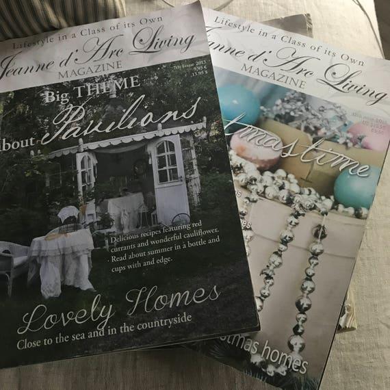Jeanne d Arc Living magazines