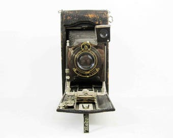 Antique Kodak No. 3A Model C Folding Autographic Camera. Circa 1910's.