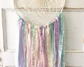 Soft pastel Birthday Package for Megan with High Chair Banner and 2 Dream Catchers