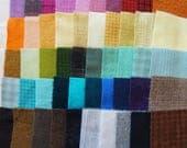 Teinte de vente à la main en laine feutrée des chutes lot numéro 1384 quilting Acres