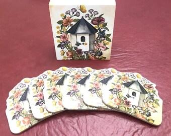 Birdhouse Coasters